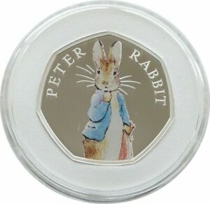 2019-Royal-Mint-Peter-Rabbit-50p-Fifty-Pence-Silver-Proof-Coin-Box-Coa