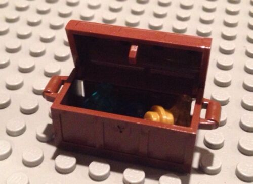 NEW PARTS Jewels Gold Gems //Accessories Lego Pirate Lot Treasure Chest