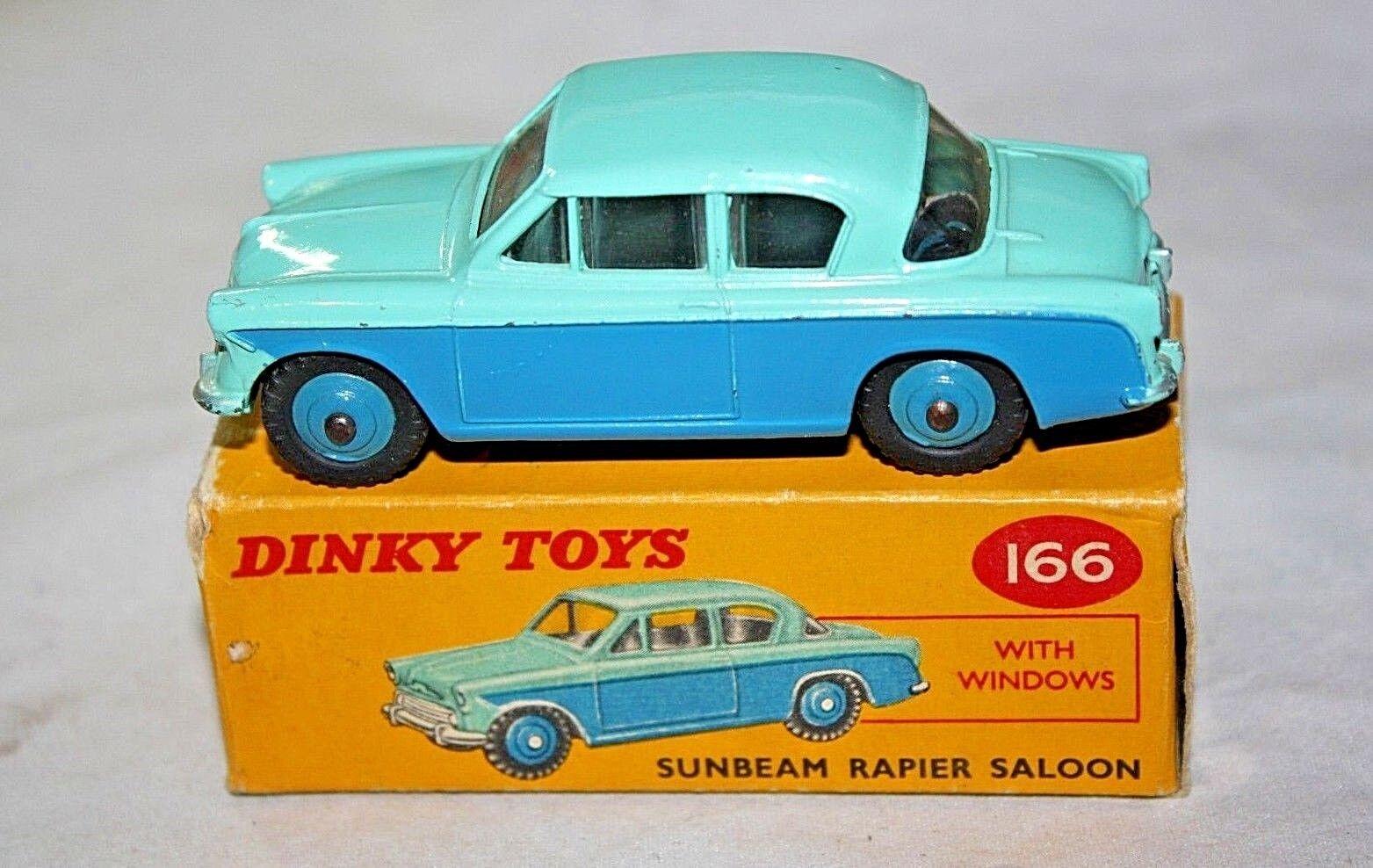 DINKY  166 SUNBEAM Rapier, VNM nella scatola originale