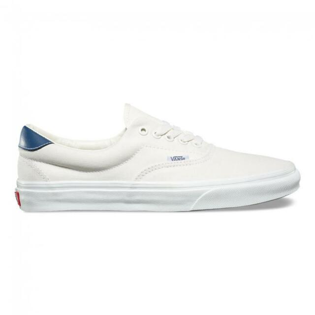 VANS off The Wall Era 59 Vintage White Vintage Indigo Blue Shoes ...