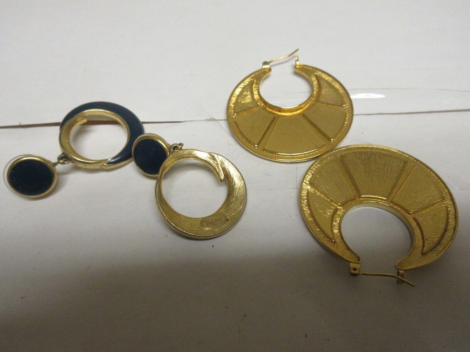 Costume Jewelry , Earrings , Lot of 6 Pair ,Trifari Inc