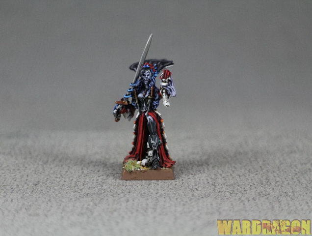 25 mm Warhammer Wds pintado Condes Vampiro Vampire Lord d80