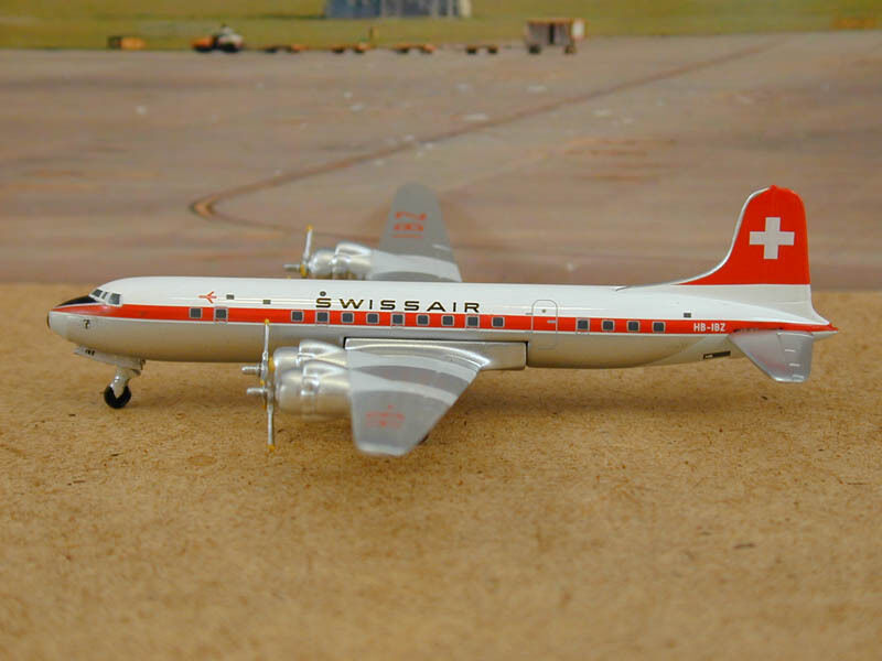 Swissair  DC-6B    HB-IBZ , 1:400 Aeroclassics