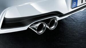ORIGINAL-BMW-M-Performance-Endrohrblende-Auspuffblende-CHROM-F20-F21-18302293739