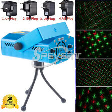 Mini R&G Laser LED Stage Lighting Projector for Disco DJ XMAS Party KTV Light