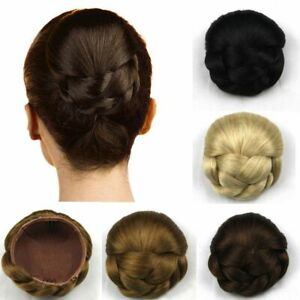 Women-Twist-Braided-Bun-Hairpiece-Updo-Cover-Clip-in-Chignon-Hair-Extensions