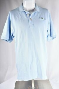 ORVIS-Men-039-s-Short-Sleeve-Polo-Shirt-Size-Medium-Blue-100-Cotton