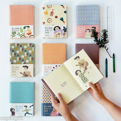 Du-dum Daily Diary Journal Planner Scheduler Agenda Scrapbook Notebook Organizer