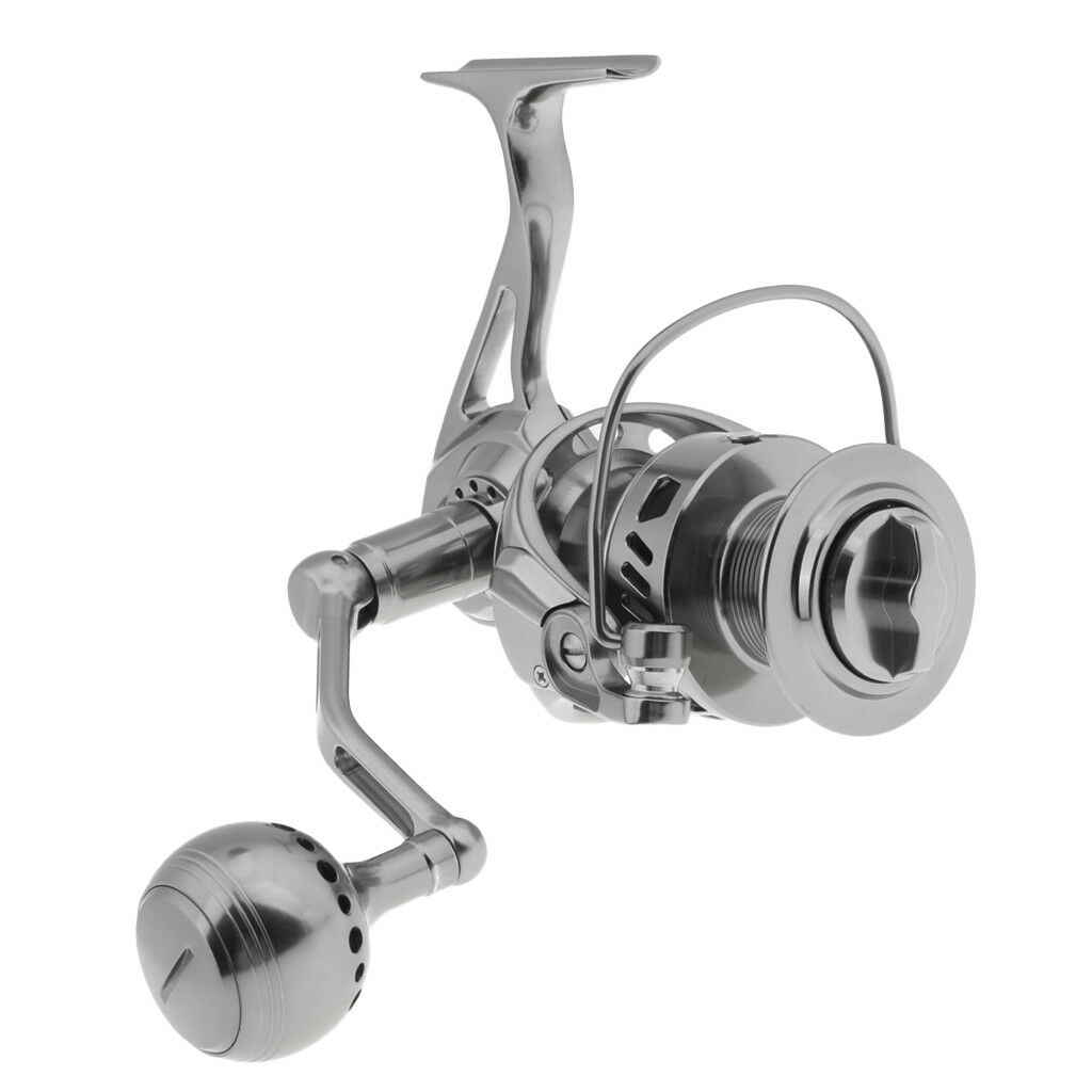 Stainless Steel CNC Integrated Boat Fishing Fishing Fishing Spinning Reel Long Casting Reels bc84ac