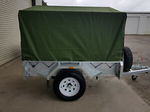 Trailer-Canopy-Cover-Tarp-Canvas-Canopy-7x5-Camping-DIY-Canvas-900mm
