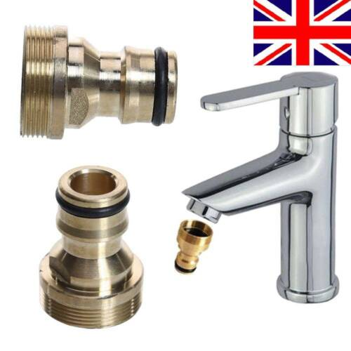 2P Universal Kitchen Tap Connector Joiner Fitting Mixer Garden Hose Adaptor Pipe