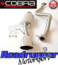 """Cobra Sport Leon Cupra R Exhaust System MK1 (1M) 2.5"""" Stainless Cat Back Non Res"""