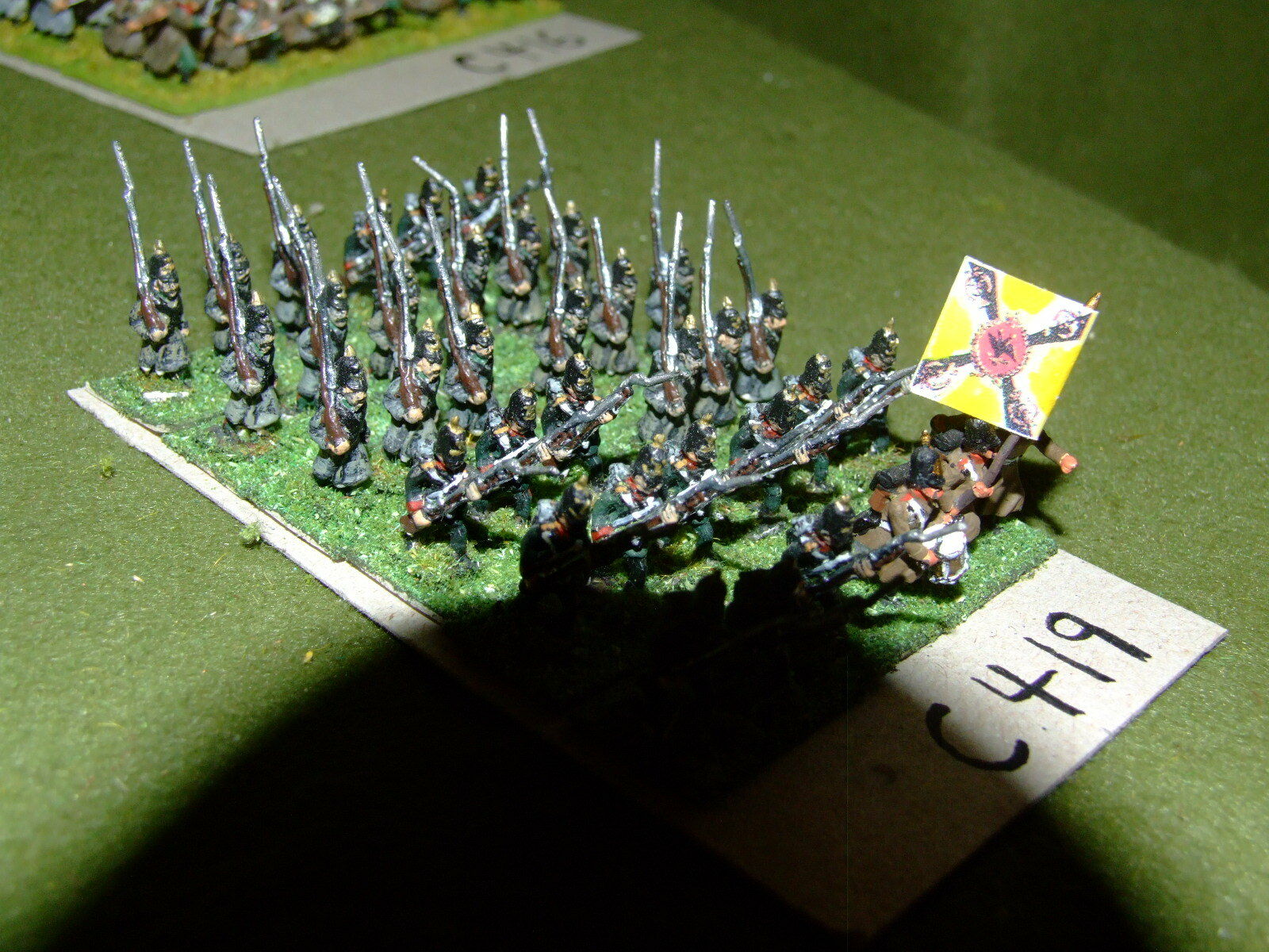 15mm 19th century   crimean - Russian 36 Infantry - inf (CL419)