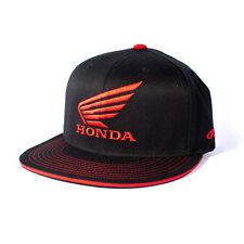 Factory Effex Licensed Honda Horizontal Flex-Fit Hat Black//Red Size S//M-L//XL