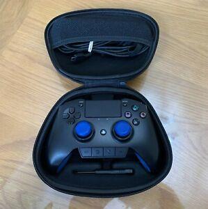PlayStation 4 PS4/PC Razer Raiju WIRED CONTROLLER-defibrillatore/CASE
