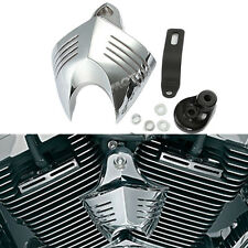 Universal Chrome Horn Cover f Harley  Softail Dyna Glide Big Twin Electra 92-12