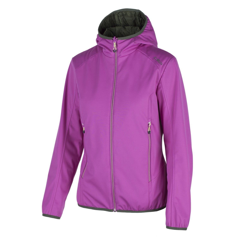 CMP Softshell chaqueta inflexión chaqueta función chaqueta púrpura acolchada primaloft ®