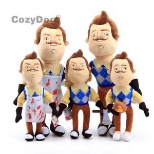 NEW-Game-Hello-Neighbor-Butcher-Neighbor-Plush-Figure-Toy-Stuffed-Doll-Kids-Gift