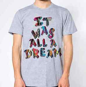 Image Is Loading It Was All A Dream T Shirt Biggie