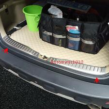 Steel Inner Rear Bumper Sill Protector Cover Trim For Honda CRV CR-V 2007-2011