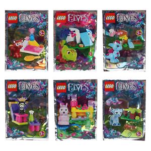 Lego Elves Tiere Babys Polybag Miku Enki Jynx Flamy Spry Hidee Auswahl