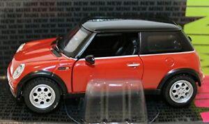 4 X Corgi Mini Cooper Echelle 1/36 - Flamenco Orange Vert Argent Noir 1