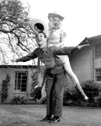 "MAMIE VAN DOREN IN THE 1958 FILM /""BORN RECKLESS/"" DA-316 8X10 PUBLICITY PHOTO"