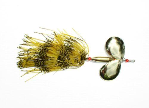 Bucktail-Spinner Dizzy Rubber 30 Gramm Bucktailspinner Doppelblatt-Spinner