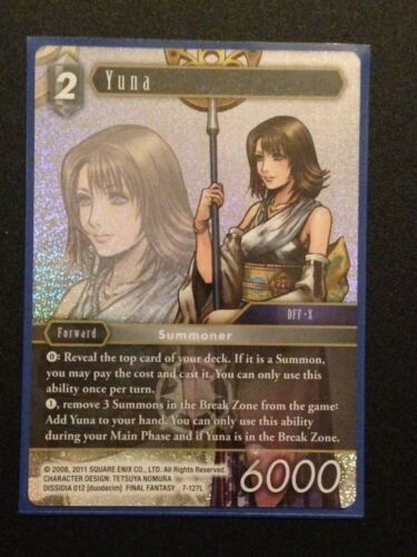 Legendary Final Fantasy TCG: Opus 7 Yuna 7-127L Light