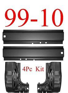 99-15 Super Duty 4Pc Rocker /& Inner Rocker Set