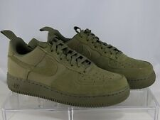 Nike Air Force 1 Low Canvas Medium Olive 579927 200 Used
