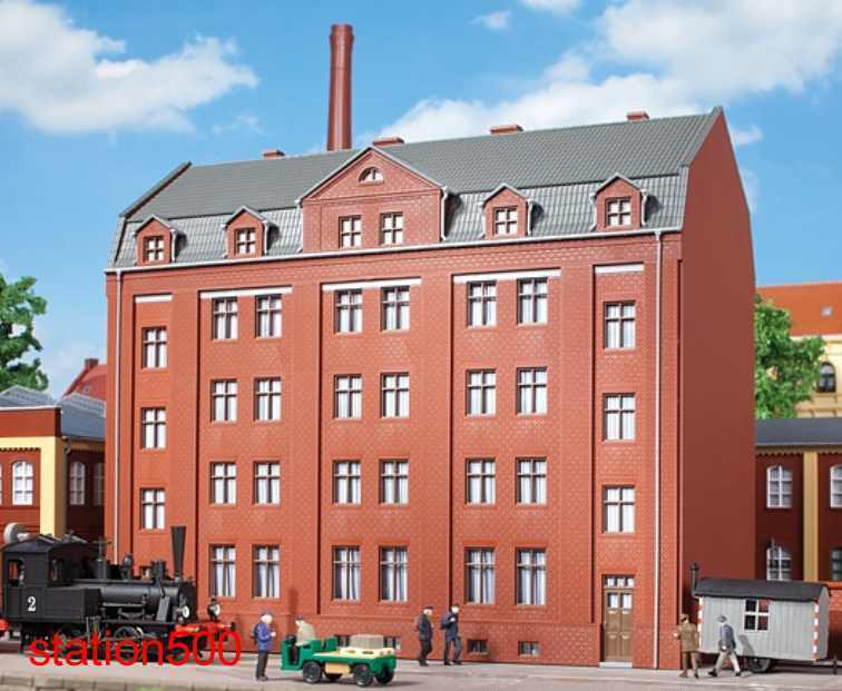 11424 Auhagen ho kit edificio administrativo-nuevo embalaje original