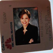 KATIE COURIC TODAY SHOW CBS NEWS YAHOO 60 MINUTES ABC TV HOF ORIGINAL SLIDE 1