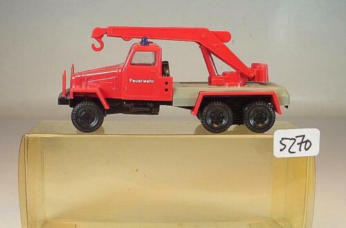 1//87 IFA G5 Kranwagen DDR Feuerwehr OVP #5270 SES S.E.S
