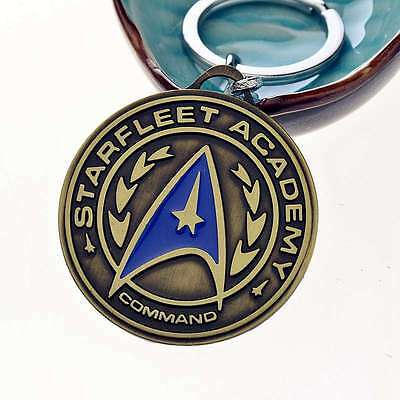 Star Trek Shield Metal Keychain Pendant Key Chain Key Ring Gift