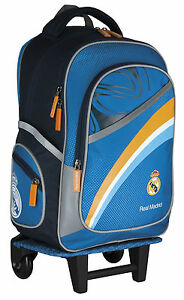 a0d7ffeae8 REAL MADRID RONALDO GRAND SAC A ROULETTE TROLLEY SAC A DOS CARTABLE ...