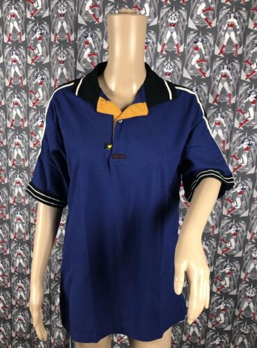 Burger King Navy Blue Black Polo Unisex Work Employee Uniform Shirt Size M NWOT
