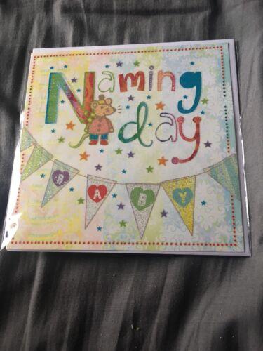 Naming Day Card