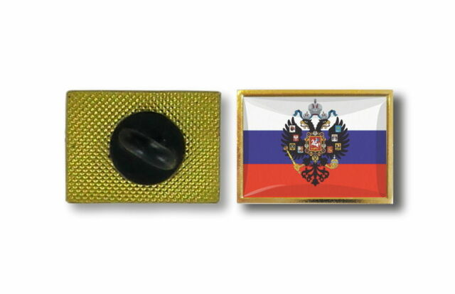 pins pin's flag national badge metal lapel backpack hat button vest russia eagle