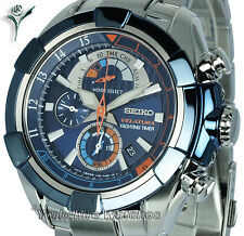 New SEIKO VELATURA YACHTING CHRONO WITH STAINLESS STEEL BRACELET SPC143P1