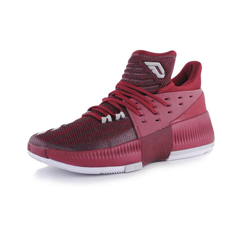 Adidas Dame 3 Men's Basketball shoes Maroon BY3195 NIB