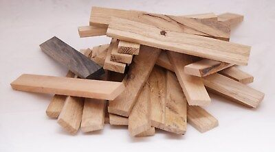 200 Holzbretter 16cm x 2,3cm x 0,8cm Abschnitt Holzbrett Bastelholz Brett Eiche