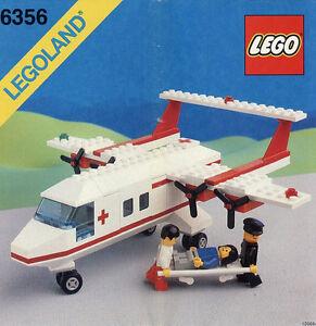 Lego Stadt Klassisch Stadt 6356 Med Star Schutz Flugzeug Lego Land
