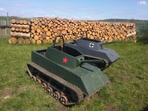 ATV, Quad, Kettenfahrzeug, Kettenpanzer