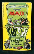 1968 1st Printing Antonio Prohias Mad's SPY vs SPY Follow-Up File paperback