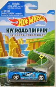 2015 Hot Wheels Road Trippin Series A25 Classic Nomad K4 Great Ocean Road