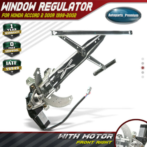 Power Window Regulator With Motor for 1998-2002 Honda Accord Front Right 741-491