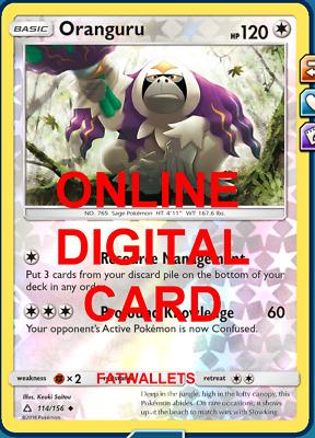 Ultra Prism 114//156 Pokemon Oranguru Uncommon