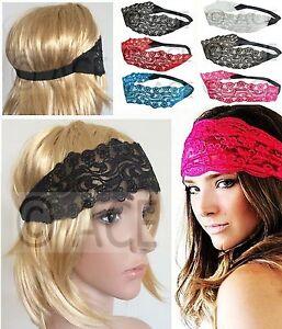 20s Great Gatsby Party Dance Crochet Hairband Head Piece Wedding Lace Headband Ebay