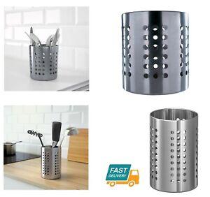 Dettagli su IKEA ORDNING Cucina in Acciaio Inox Portaposate e utensile da  Contenitore Pot- mostra il titolo originale